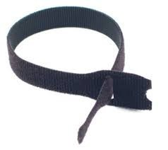 "5"" x 3/4"" Velcro® Brand One Wrap® Straps Black 1440/Spool"