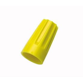 Standard Wire Connector, Yellow (100/Pack)