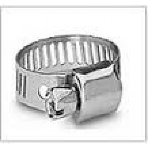 #6MS All Stainless Steel Hose Clamp