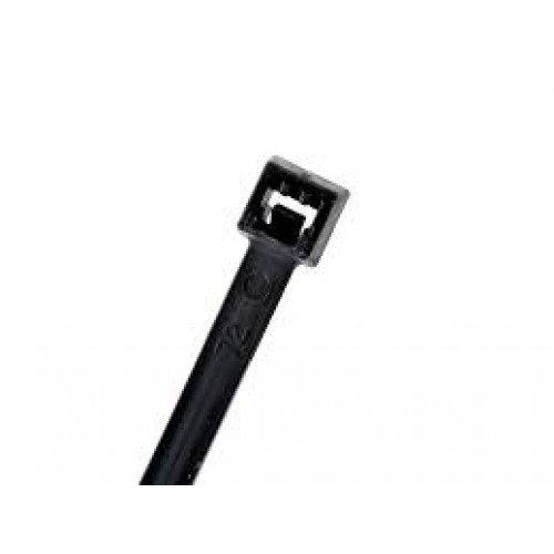 "M8-18-0C 8"" 18lb Black Cable Tie 3"