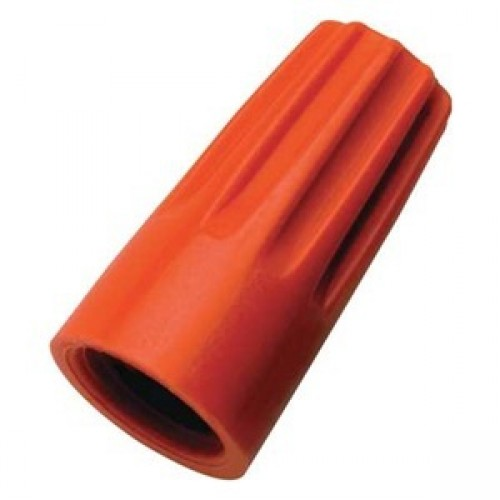 Standard Wire Connector, Orange (100/Pack)