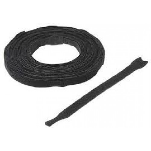 "12"" x 3/4"" Velcro® Brand One Wrap® Straps Black 600/Spool"