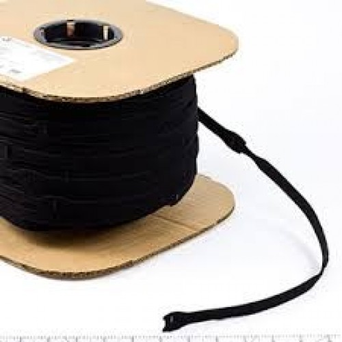 "8"" x 1"" Velcro® Brand One Wrap® Straps Black 675/Spool"