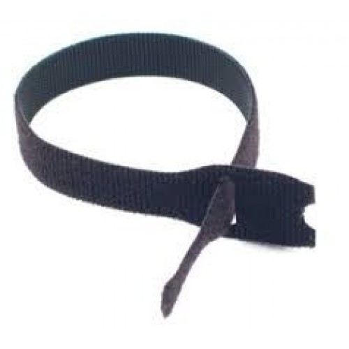 "5"" x 3/4"" Velcro® Brand One Wrap® Straps Black 1440/Spool"