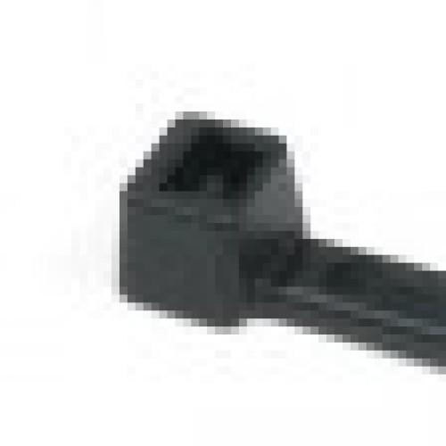 """M6-18-0C 6"""" 18lb Black Cable Tie 3"""
